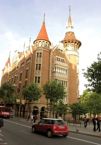 Barcelona s top 10 modernista buildings - Casa modernista barcelona ...