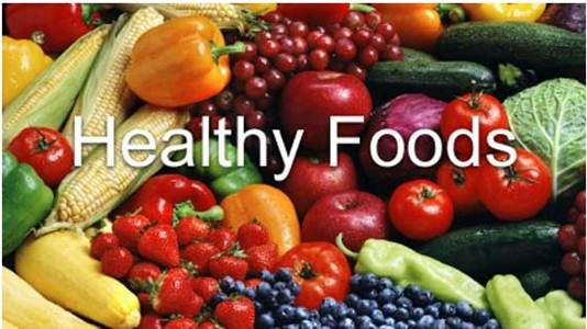 Description: healthy foods