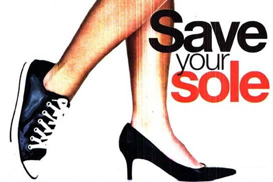 Description: Save Your Soles This Summer