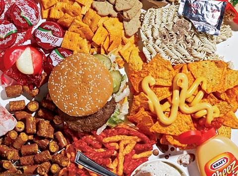 Description: unhealthy food