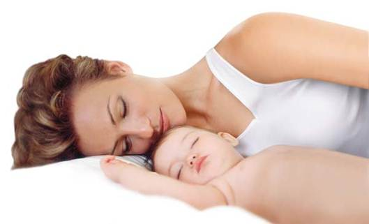 Description: Baby slept with me almost all the time as she was very attached to me, and would not stop wailing if it was anybody else.