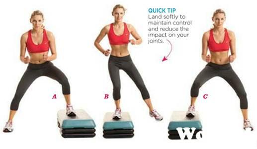 Description: Low box lateral shuffle