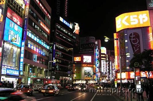 Description: Lighting up Japan