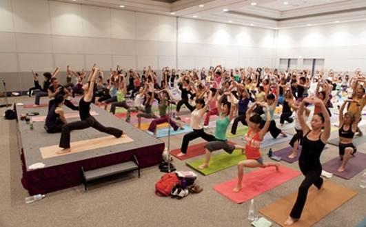 Description: Yoga fest Yokohama 2010