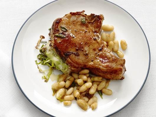 Description: Stuffed Pork Chops