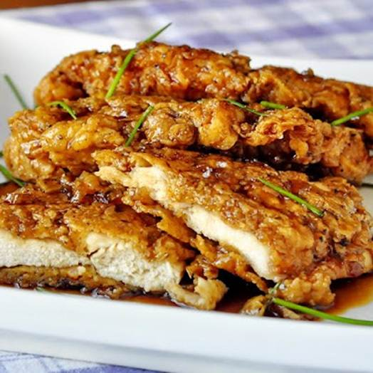 Description: Description: Super-Crunchy CHICKEN BREASTS