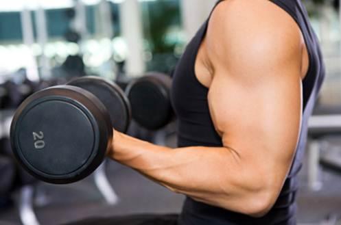 Description: Weight training