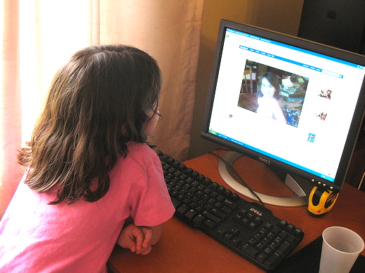 Description: Telling your nine-year-old that she isn't old enough to use social networking sites