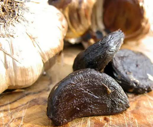 Description: Black garlic