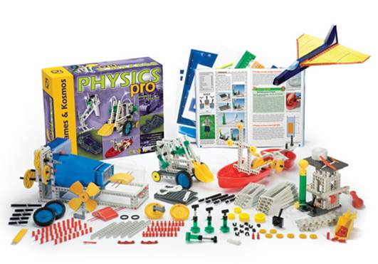"""Description: """"Science kits give them opportunities and tools to further explore a certain area, and with clear instructions on how to go about it."""""""