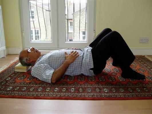 Description: Lie down in a quiet place