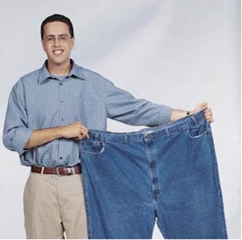 Description: Jared lost the weight but just eating two meals of Subway a day
