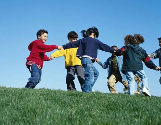 Parents should let children take part in outdoor activities with family or friends in order that children can learn things that are not in books.