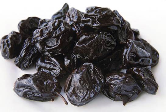 A US study found that post-menopausal women who ate this number of prunes for a year had significantly higher bone density in their arms and spine than women who ate other dried fruit.