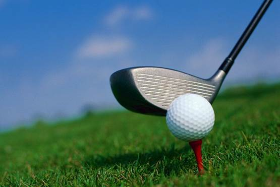 Reaching into a bucket at the driving range or zooming around in a cart does not score fitness points.