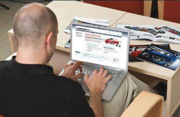The invoice price can be found in printed pricing guides or on car-pricing websites.