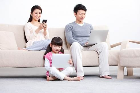 If children regularly watch TV or use computer, reading ability and memory of children can be reduced.