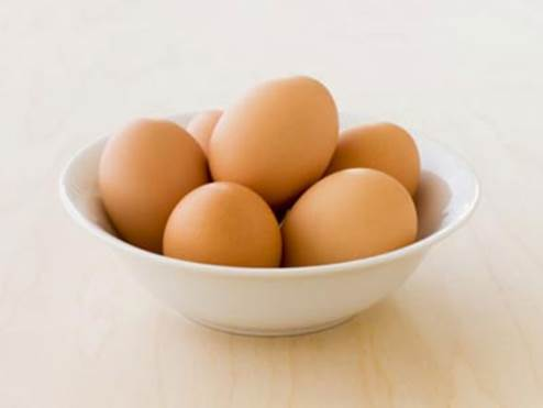 Eating egg can help you provide your body with vitamin E.