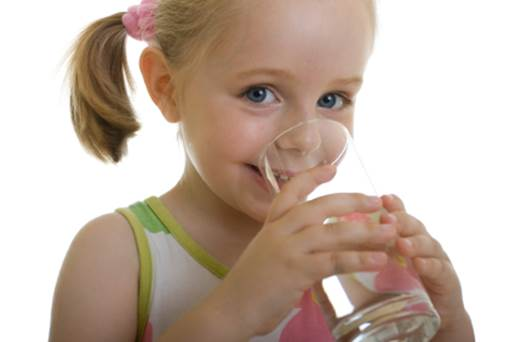 Children that are over 10 years old will drink the amount of water that is equal to adults.