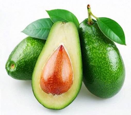 Avocado is one of the fruits containing mono unsaturated fat that is good for heart.