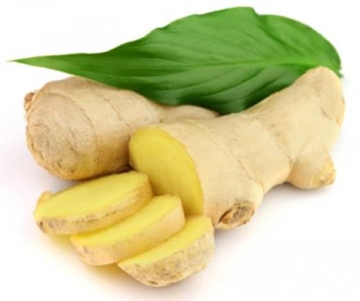 Ginger also helps intensify blood circulation.