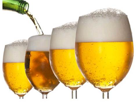 Beer is a wonderful cosmetic for hair and skin.