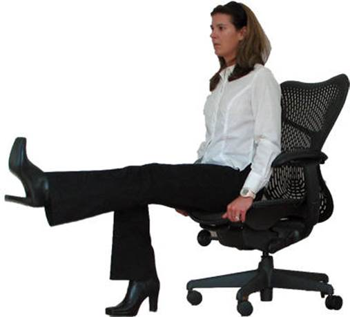 For people that work in office, at their office, every 2 hours, they should stand up and do some simply relaxing movements.