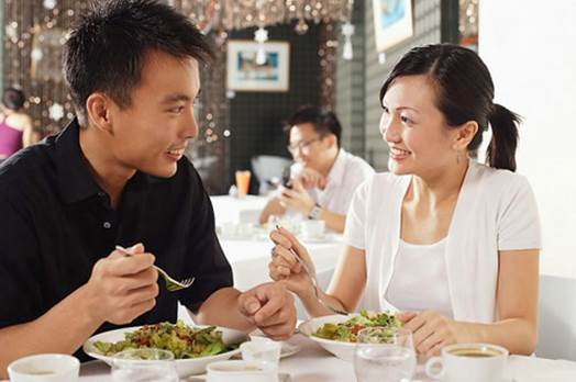 If you eat too much in dinner, your body cannot charge all energy.