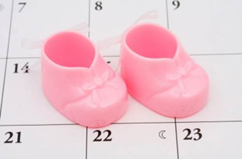 Normally, the day when ovum falls will be the 14th day of pregnancy.