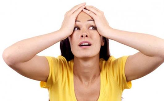Stress affects not only your mentality but also directly to falling of ovum and ability of becoming pregnant.
