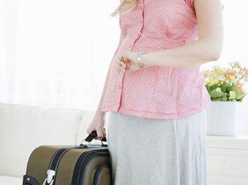 Travelling will help pregnant women forget pressures in life, tiredness in pregnancy.