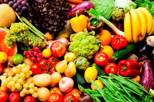 Keep the fruit or vegetable meals colorful and attractive to bring your children joy in eating those foods.