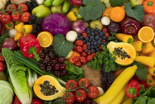 Fruits and vegetable are given priority as they are lacking in sodium but rich in potassium which helps prevent hypertension.