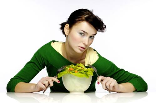 Eating foods but meat and fish is a wrong conception of dieters.