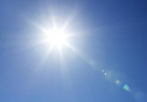 Sun is the source of UV, a kind of ray that destroys skin and cause skin cancer.