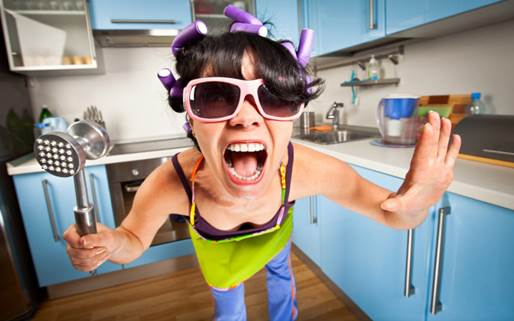 Women who do housework often complain that they always feel tired and stressed.