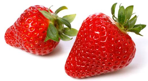 Strawberry helps pregnant women keep the ideal pregnant shape.