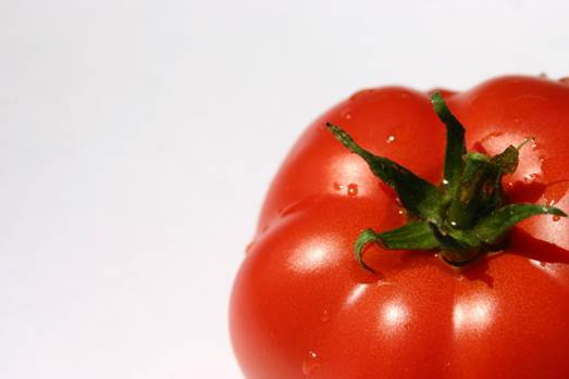 Tomato is rich in lycopene.