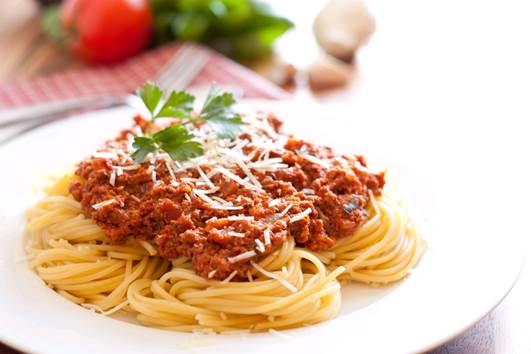 Health expert recommend for women not to eat too much spaghetti during pregnancy.