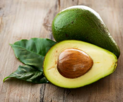 In avocado, there's a high level of potassium that helps fight against disease of blood circulate and blood pressure decrease.