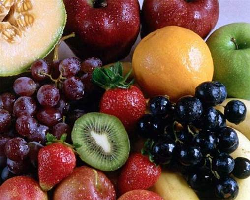 It's not good eating sweet fruits right after meals.