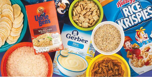 Our analysis found varying levels of arsenic in more than 60 rice and rice products –cereals, crackers, and more.