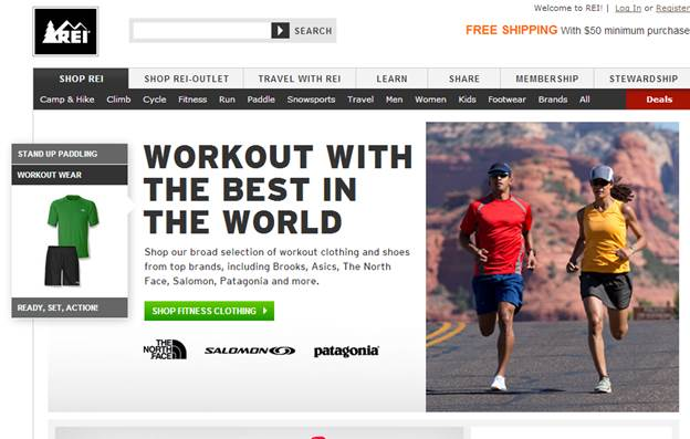 REI offers a 100 percent satisfaction guarantee, letting shoppers return or replace items if they ever fail to meet expectations.