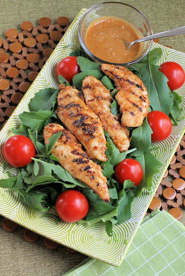 Chicken, Lime And Peanut Salad