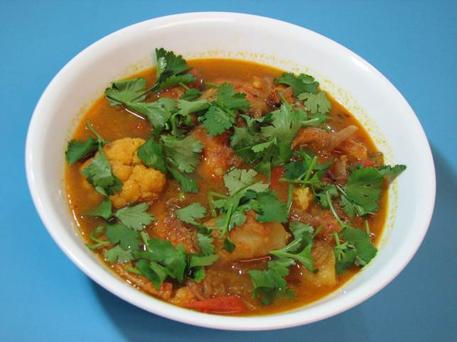 Bengali-style fish curry