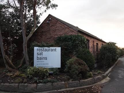 Description: Restaurant Sat Bains – Nottingham