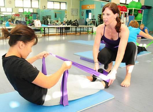 Description: Try a yoga, or Pilates class.