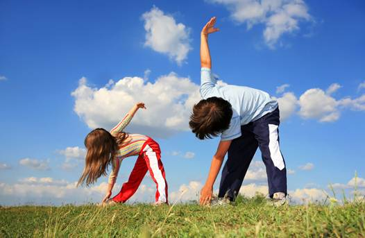 Description: Want a kid who likes to exercise? Set a good example!