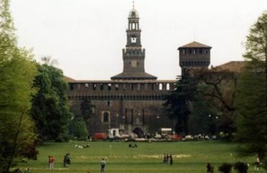 Description: Castello Sforzesco
