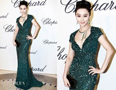 Description: Fan Bingbing in another Elie Saab' stunning design